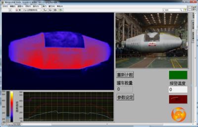 鱼雷罐车双光扫描系统