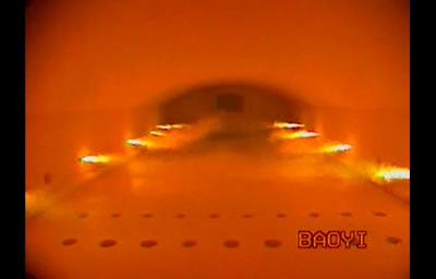 玻纤窑视频